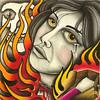 Die Die My Darling by Scott Milyanovich Jr. All artwork for