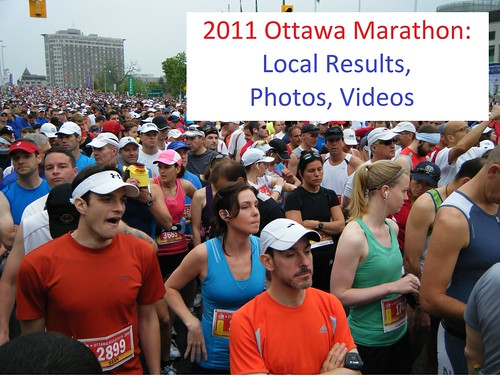 Ottawa Marathon 2011: results, photos