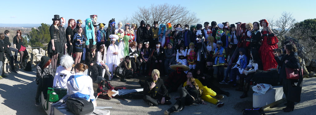 related image - Sortie Cosplay Avignon - 2014-02-22- P1780143-P1780145