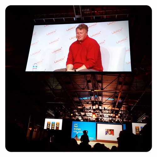Paul Graham at #Launch 2014