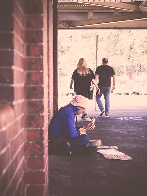 Homeless Guitar
