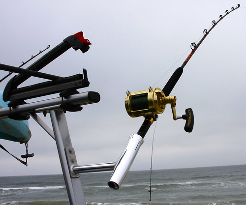 Rod holders for trac rac texas shark fishing for Shark fishing rod