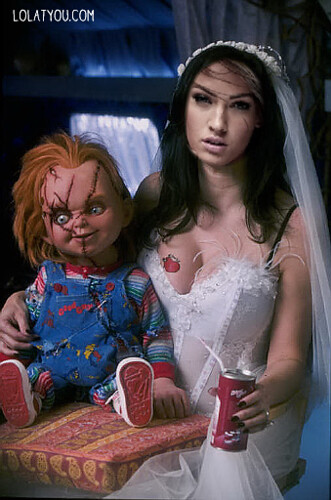 Bride of Chucky Costume Ideas http://www.flickr.com/photos/robeenli/4031713114/