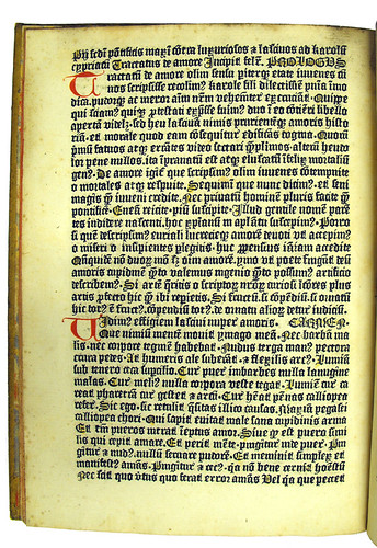 Coloured initials and capital strokes in Saliceto, Guilelmus de: De salute corporis