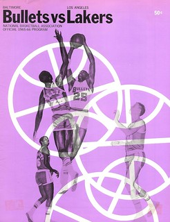 Los Angeles Lakers vs. Baltimore Bullets, 1965-1966
