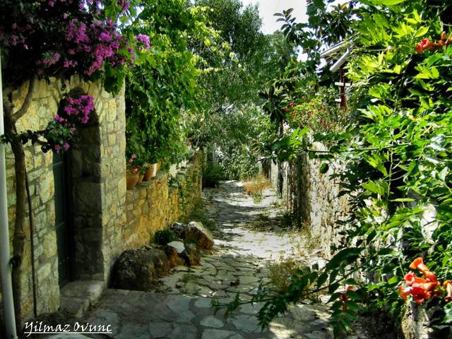 OLD CITY IN DATCA/Turkey