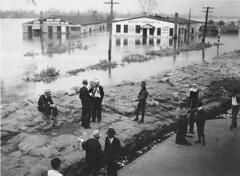 Hurricane of 1938 - Sandbags, view 4