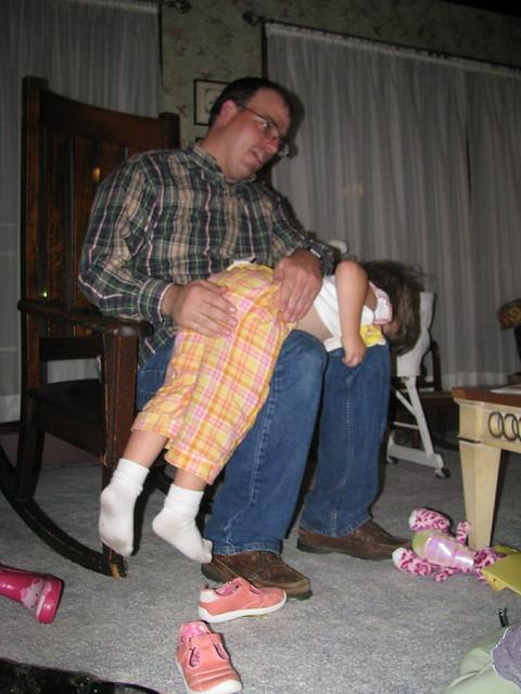 b day spankings