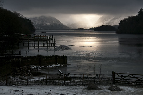 Ray of Light on Derwent Water