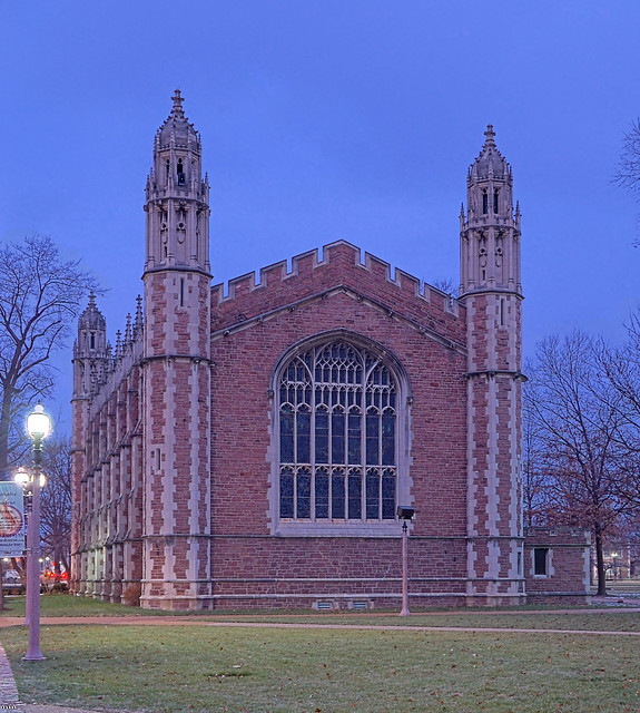 Washington University, in Saint Louis, Missouri, USA - Graham Chapel