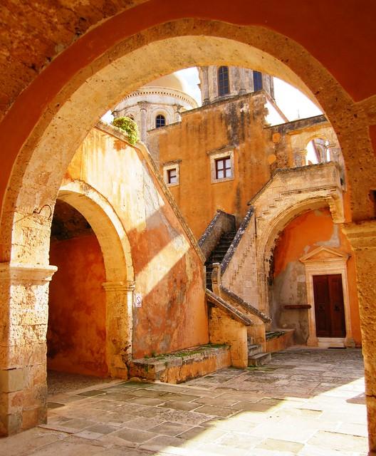Geometry, Agia Triada Monastery, Akrotiri Peninsula, Crete ...