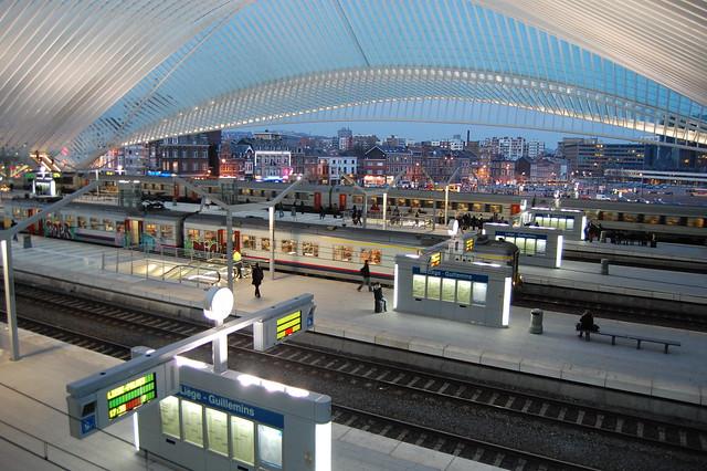 Santiago Calatrava Li 232 Ge Guillemins Tgv Station Li 232 Ge