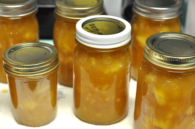honey lemon apple jam