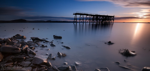 longexposure sea sunrise scotland pier nikon rocks fife shore dri northqueensferry d90 sigma1020 carlingnosepoint bw110nd