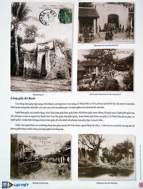 Hanoi Xua (46) - Village du Papier, Làng giấy Kẻ Bưởi