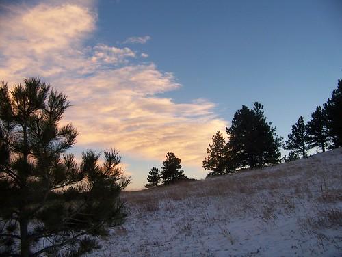 sunset usa mountain colorado