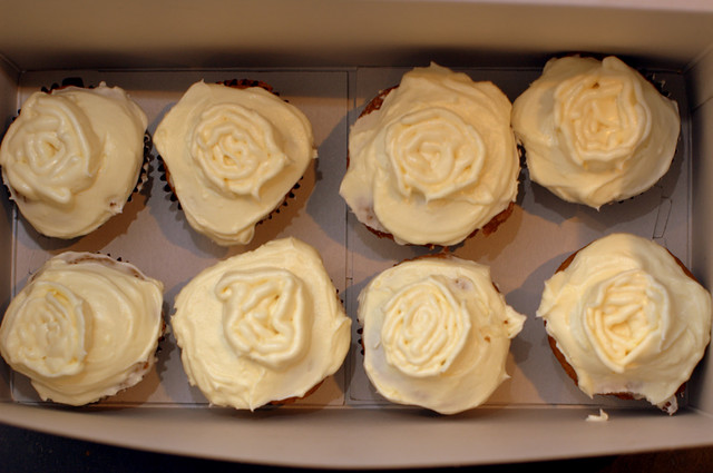 pumpkin spice cupcakes with maple cinnamon frosting | Flickr - Photo ...
