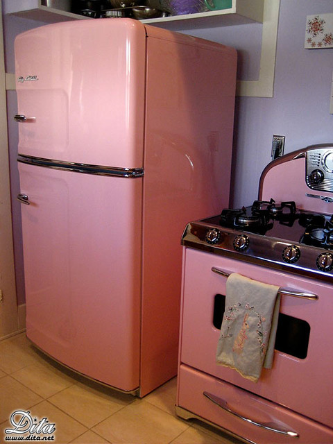Pink kitchen appliances a gallery on flickr for Dream kitchen appliances
