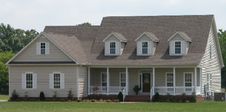 Beautiful custom home built in the country on the customers 5 acres.
