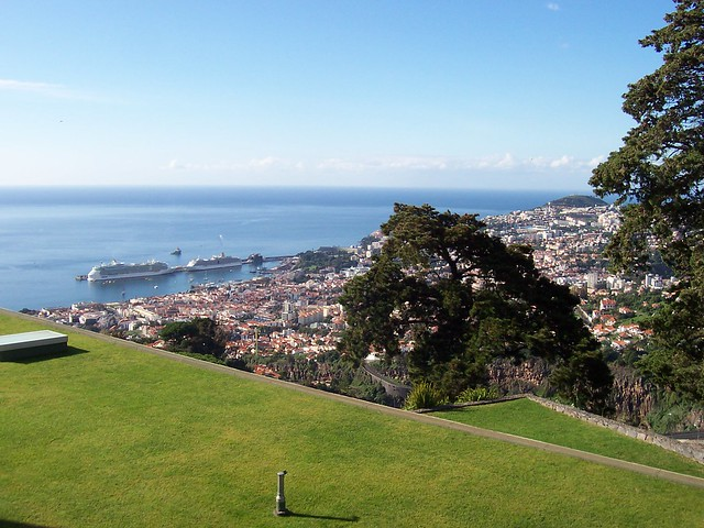 the port of Funchal, Madeira