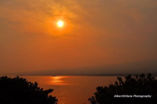 sunrise nikon silhoutte harmattan equatorialguinea nikkor1855mm d5000 flickraward malufet