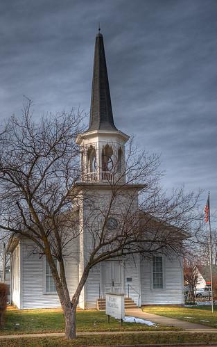 ohio church architecture geotagged nikon raw nef gothic hdr historicpreservation italianate greekrevival photomatixpro nrhp d3s starkcountyohio wilmotohio nikongp1 pse8 sigma2470ifexdghsm