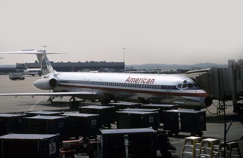 49173 MD-82 N223AA American Airlines Atlanta Hartsfield Airport