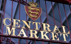 The Sign for the Central Market