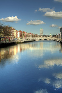Looking down the Liffey - Day #128