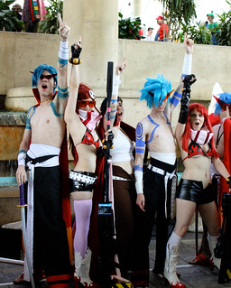 Gurren Lagann group shot 2