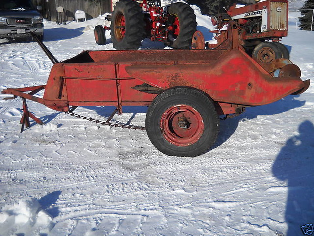 Farmall Manure Spreader : International farmall manure spreader flickr photo