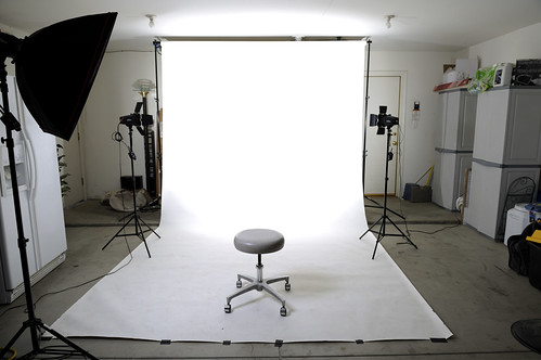 Studio In The RAW: High Key Set-up