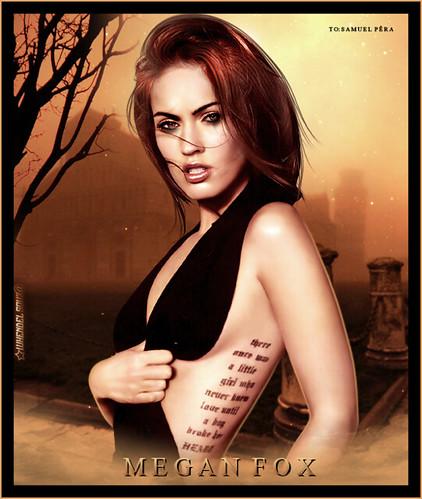 Megan Fox - To: Samuel Pêra - whendelsouz@