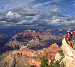 Grand Canyon Mather Point Spring Storm 2011_5067a