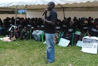 Gerald Kato works at Alliance Uganda as head of policy and advocacy,  KC Sharifah Nabukenya