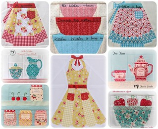 In the Kitchen ~ Paper Piecing Patterns