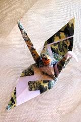 The Nobel Peace Prize 2009 for President Barack Obama Peace Crane Origami Ornament