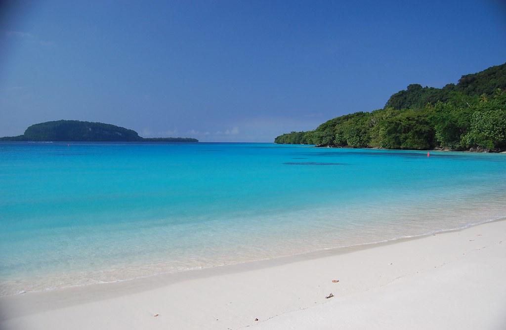 пляж Сhampagne вануату