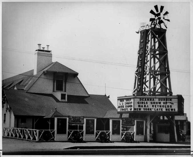 Tumbleweed Theater, El Monte, California - 1939
