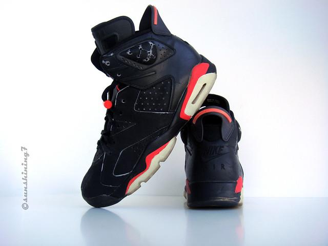 619f5a45d306 ... Sunshining7 - Nike Air Jordan VI - 1991 - OG Black Infrared