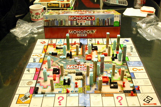 Monopoly City:: Bird's Eye-View | Flickr - Photo Sharing!