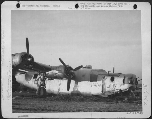 """B-24 """"Shady Lady"""""""