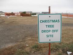 christmas tree recycling dropoff 2