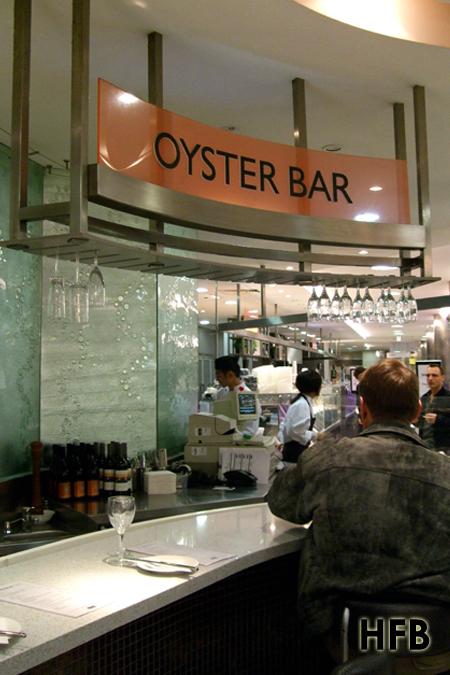 Taste down under ii oyster bar david jones perth his for Food bar perth