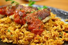 meal(1.0), nasi goreng(1.0), meat(1.0), food(1.0), dish(1.0), cuisine(1.0), jambalaya(1.0),