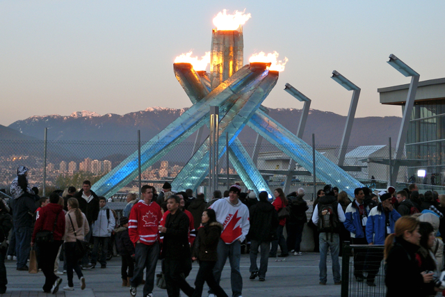 The Olympic Cauldron