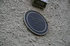 Photo of Kenneth Grahame blue plaque