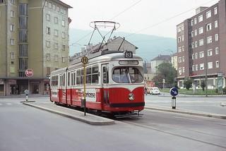 Trams d'innsbruck (Autriche)