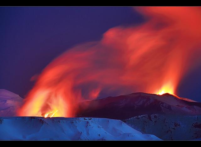 Lava River - Eyjafjallajökull Eruption