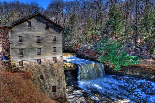 ohio history geotagged waterfall nikon historicpreservation gristmill lantermansmill youngstownohio d3s nikongp1 mahoningcountyohio